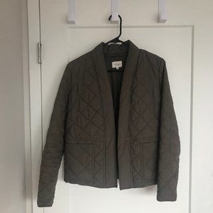 Aritzia Quilted Bomber - XS